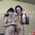 Amanda und Julia zeigen geile Playboy Fick-Orgie