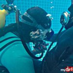 Blowjob unter Wasser von Madame Tina