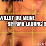 WILLST DU MEINE SPERMA LADUNG !!!
