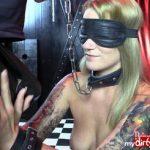 Studentin Aira 24j. beim BDSM Sklaven-Casting