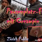 Public in Zürich gefickt & Creampie!