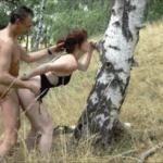 Schweizer Rotkäppchen im Wald gefickt